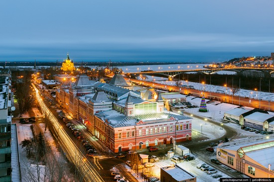 Winter in Nizhny Novgorod, Russia, photo 13
