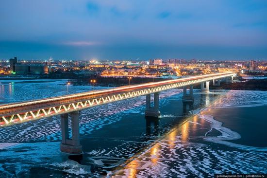 Winter in Nizhny Novgorod, Russia, photo 15