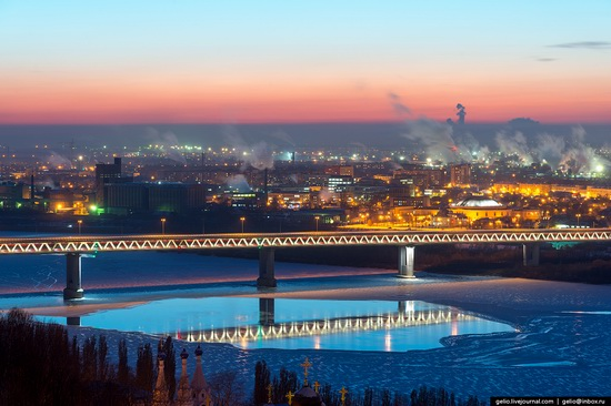 Winter in Nizhny Novgorod, Russia, photo 16
