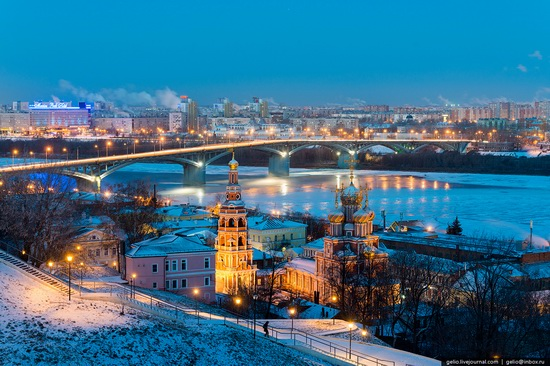 Winter in Nizhny Novgorod, Russia, photo 21