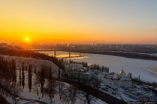 Winter in Nizhny Novgorod, Russia, photo 23