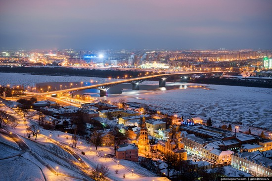 Winter in Nizhny Novgorod, Russia, photo 3