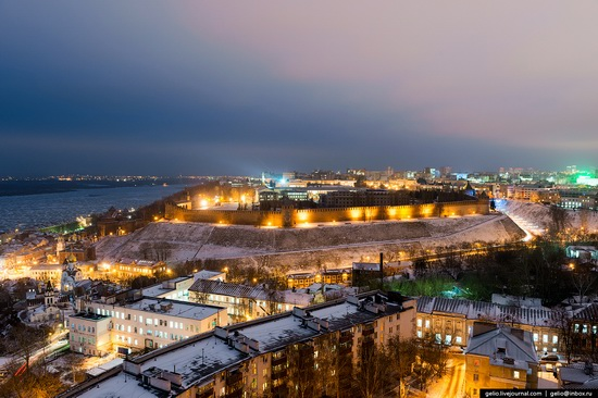 Winter in Nizhny Novgorod, Russia, photo 4