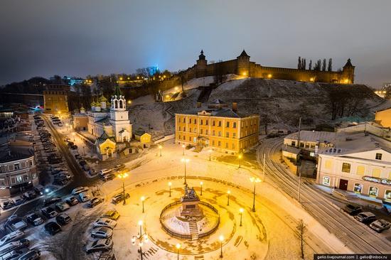 Winter in Nizhny Novgorod, Russia, photo 6