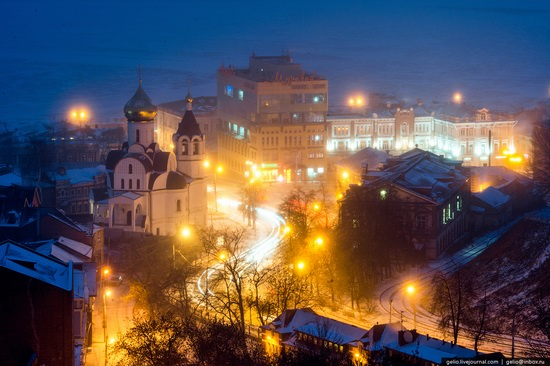 Winter in Nizhny Novgorod, Russia, photo 8