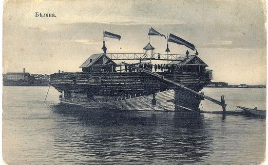 Belyana - giant wooden ship, Russia, photo 1