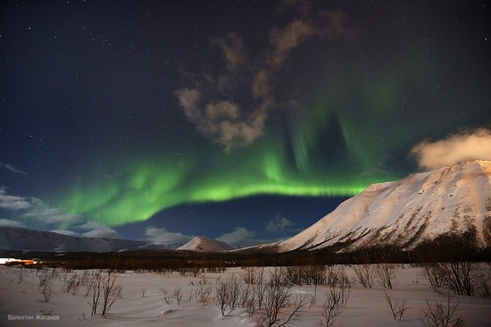 Northern lights in the sky over Murmansk region, Russia, photo 19