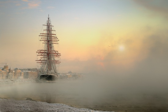 The Sedov barque, Russia, photo 1