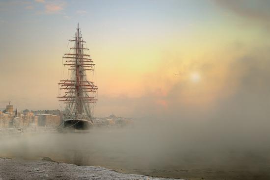 The Sedov barque, Russia, photo 1