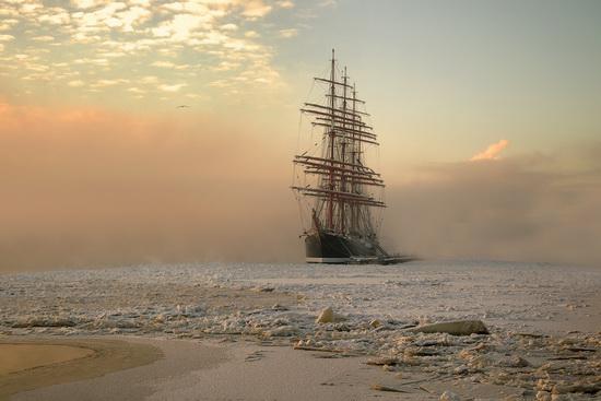 The Sedov barque, Russia, photo 2