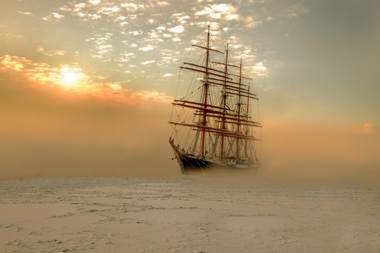 The Sedov barque, Russia, photo 3
