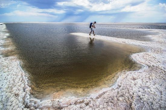 Baskunchak - a unique salt lake, Russia, photo 1