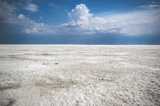 Baskunchak - a unique salt lake, Russia, photo 12