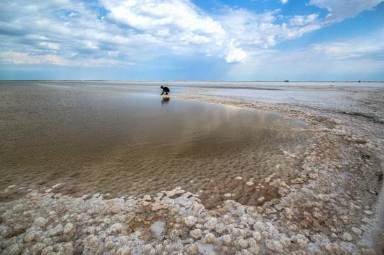 Baskunchak - a unique salt lake, Russia, photo 14