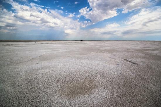 Baskunchak - a unique salt lake, Russia, photo 15