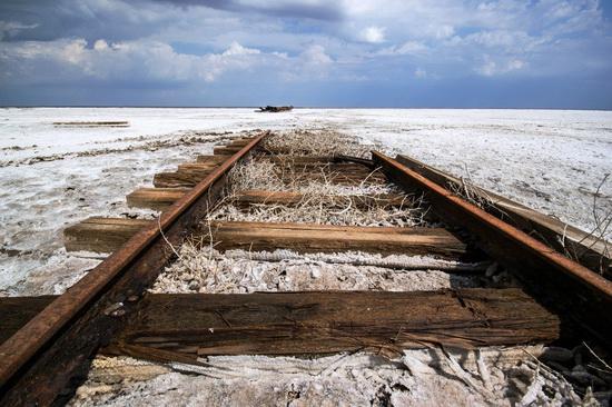 Baskunchak - a unique salt lake, Russia, photo 24