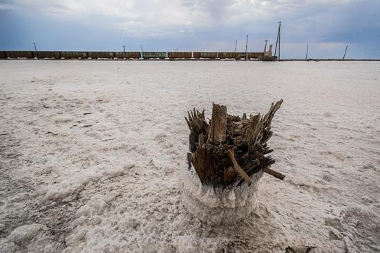 Baskunchak - a unique salt lake, Russia, photo 6