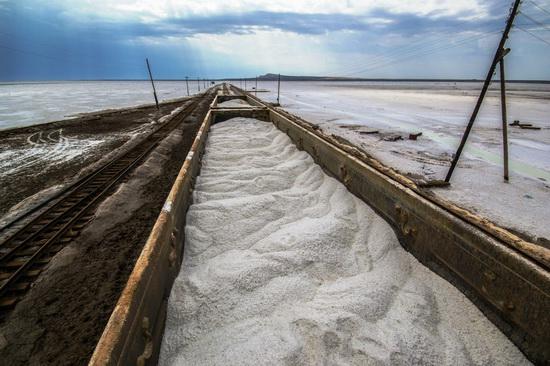 Baskunchak - a unique salt lake, Russia, photo 9