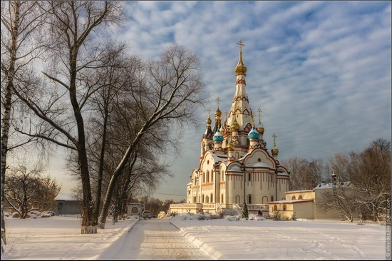 The Church of the Kazan Icon of Our Lady in Dolgoprudny, Moscow region, Russia, photo 1