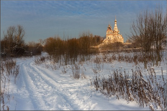 The Church of the Kazan Icon of Our Lady in Dolgoprudny, Moscow region, Russia, photo 4