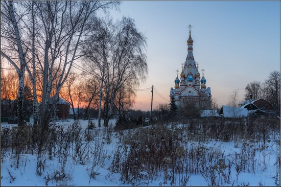 The Church of the Kazan Icon of Our Lady in Dolgoprudny, Moscow region, Russia, photo 6