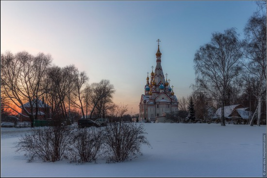 The Church of the Kazan Icon of Our Lady in Dolgoprudny, Moscow region, Russia, photo 7