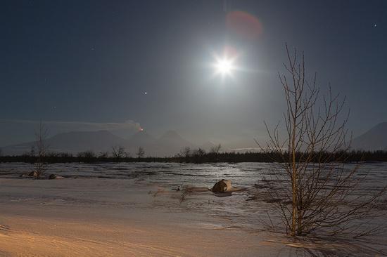 Klyuchevskaya Sopka volcano eruption, Kamchatka, Russia, photo 1