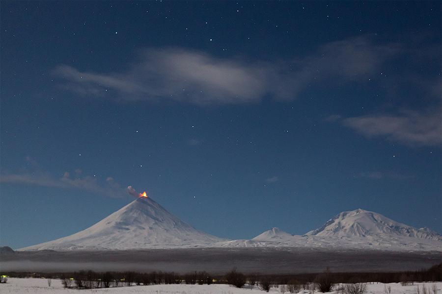 History of a Volcano: Klyuchevskaya Sopka