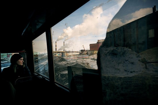 Life in Norilsk city, Russia, photo 1