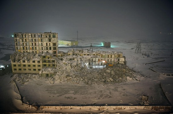 Life in Norilsk city, Russia, photo 14