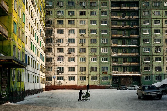 Life in Norilsk city, Russia, photo 2
