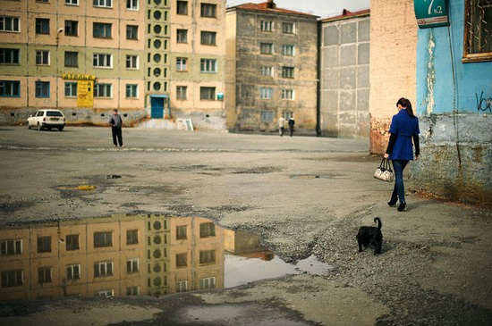 Life in Norilsk city, Russia, photo 21