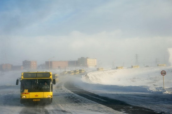 Life in Norilsk city, Russia, photo 4