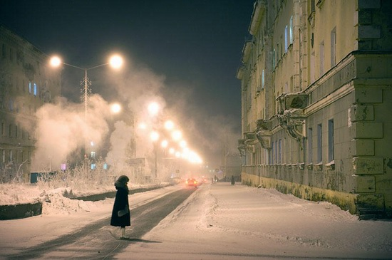 Life in Norilsk city, Russia, photo 8