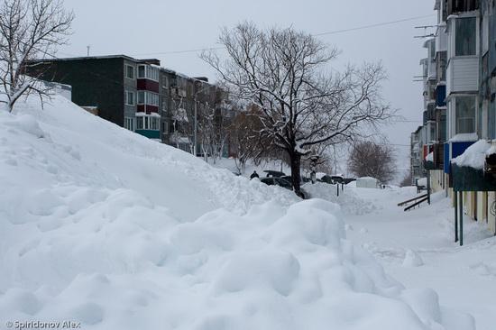 Petropavlovsk-Kamchatsky snow apocalypse, Russia, photo 13
