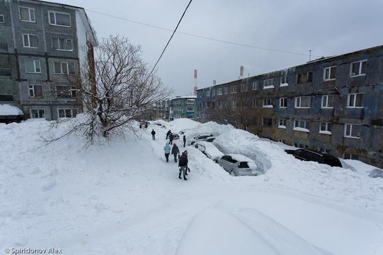 Petropavlovsk-Kamchatsky snow apocalypse, Russia, photo 15