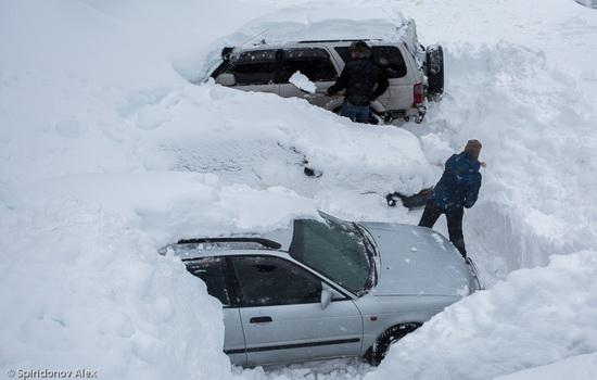 Petropavlovsk-Kamchatsky snow apocalypse, Russia, photo 17