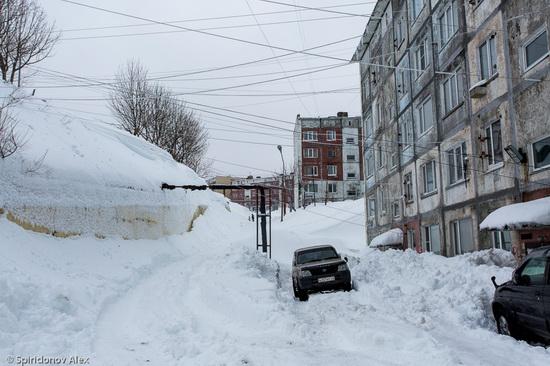 Petropavlovsk-Kamchatsky snow apocalypse, Russia, photo 4