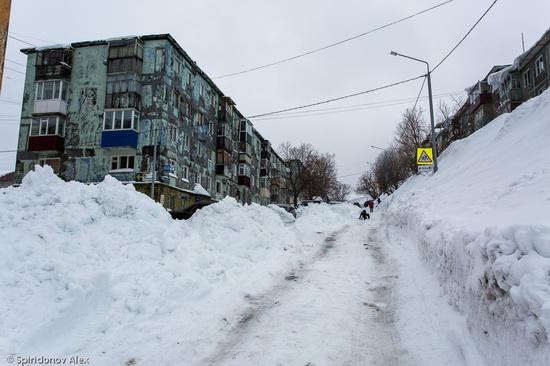 Petropavlovsk-Kamchatsky snow apocalypse, Russia, photo 5