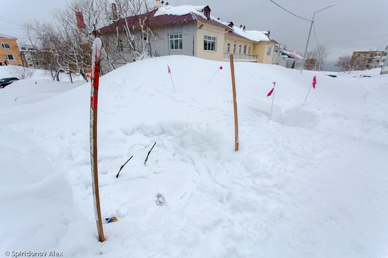 Petropavlovsk-Kamchatsky snow apocalypse, Russia, photo 9