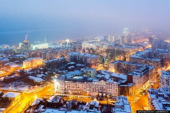 Samara city in winter time, Russia, photo 10