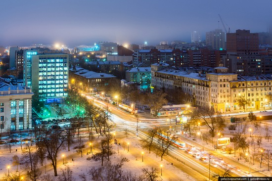 Samara city in winter time, Russia, photo 15