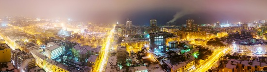 Samara city in winter time, Russia, photo 16