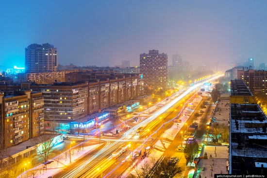 Samara city in winter time, Russia, photo 18