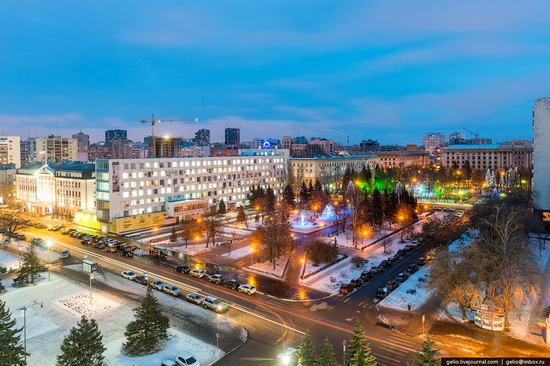 Samara city in winter time, Russia, photo 22