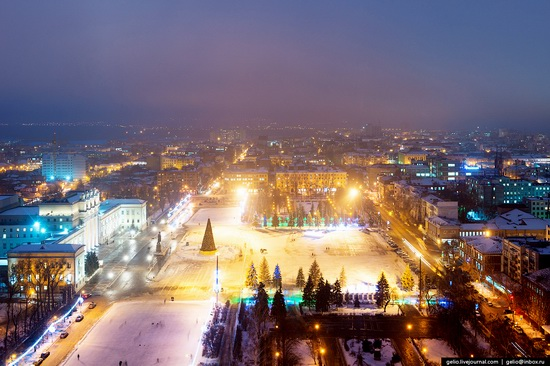 Samara city in winter time, Russia, photo 5