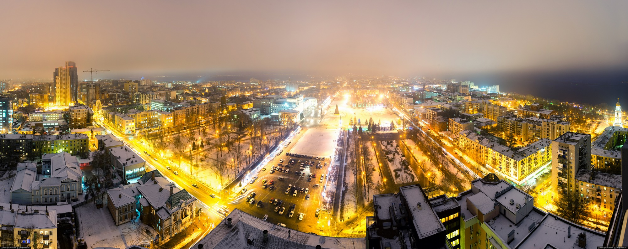 Samara city in winter time · Russia Travel Blog