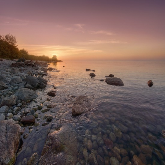One evening on the shore of Lake Baikal, Russia, photo 2