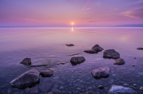 One evening on the shore of Lake Baikal, Russia, photo 5