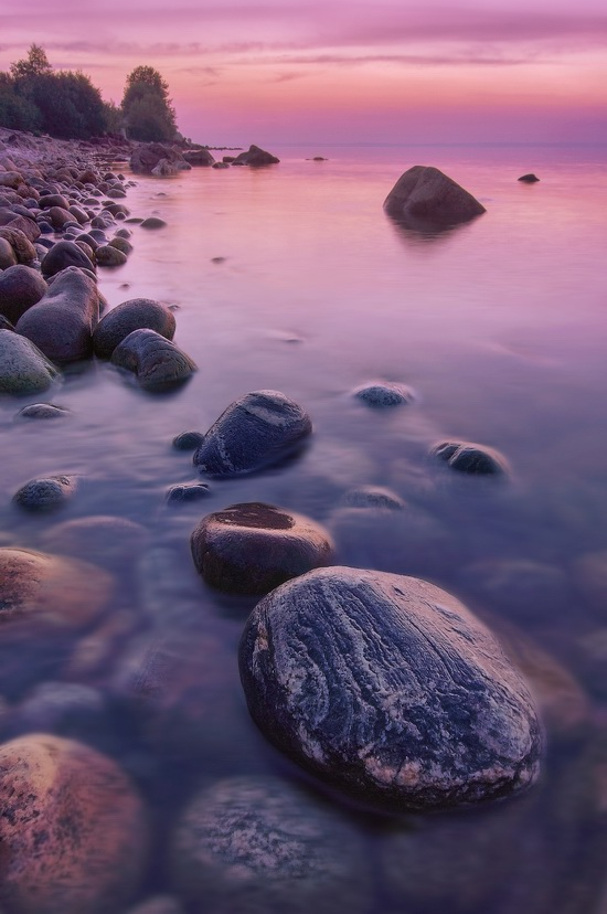 One evening on the shore of Lake Baikal, Russia, photo 6